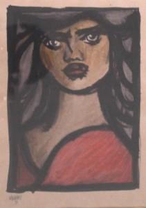 Sem Título (figura feminina),1953